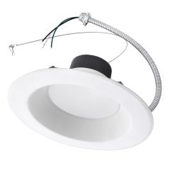 """ASD Commercial Downlight 6"""" 20W 3000K 1700lm 85lm/w NON-DIM Energy Star"""
