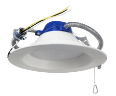 """ASD Commercial Downlight 8"""" 30W 4000K 2500lm 85lm/w NON-DIM  Energy Star"""