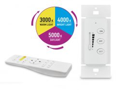 ASD Remote control for CCT panels and troffers