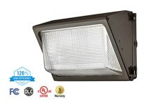 ASD LED Wallpack 50W 4000K 5800lm 115lm/w Bronze w/Photocell