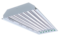 ETI 4ft Linear 6-lamp T8 Type B Power Either End High Bay Fixture Body