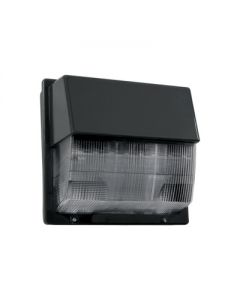 Lithonia Lighting Polycarbonate Refractor Wall-Pack, LED, Adjustable Light Output