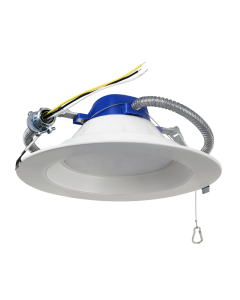 "ASD Commercial Downlight 8"" 30W 3000K 2500lm 85lm/w NON-DIM  Energy Star"