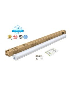 ASD LED Seamless Vapor Proof Fixture 8 feet 60W 5000K 6600lm 110lm/w with sensor