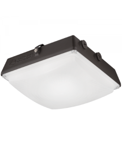 Lithonia Lighting CNY, LED Canopy Luminaire, 120-277V-4500lm-5000-Dark Bronze