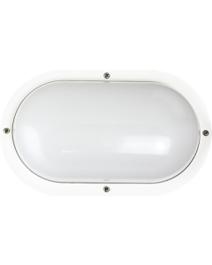 ETI 10inch COLOR PREFERENCE® Outdoor Light - Oval (White)