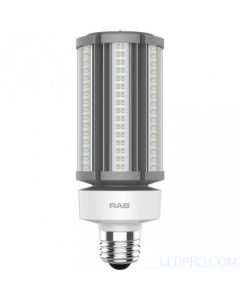 45 Watt LED Post Top Lamp - Ballast Bypass - Medium Base - 5000K - 6,800 Lumens - 120-277V