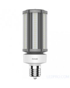 54 Watt LED Post Top Lamp - Ballast Bypass - Mogul Base - 5000K - 8,100 Lumens - 120-277V