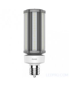 63 Watt LED Post Top Lamp - Ballast Bypass - Mogul Base - 5000K - 9,500 Lumens - 120-277V