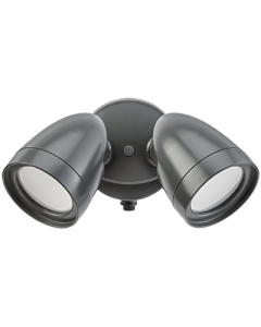 ETI 2-head Dusk to Dawn Security Light (Bronze)
