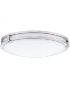 Lithonia Lighting 16 inch Round Saturn LED Flush/Semi-Flush mount, 80 CRI