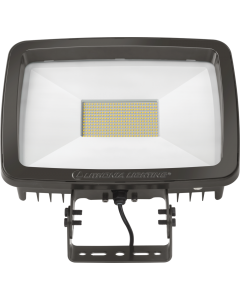 Lithonia LED Floodlight, Dark Bronze Finish, Super Durable, TFX3-347-480V-Yoke mount