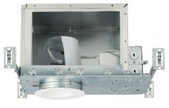 4 in. New Construction Housing, Low Voltage, IC-Rated
