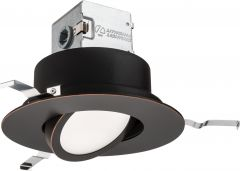 Lithonia Lighting Gen5 Canlesskit 6 Baffle, Adjustable, Round-3000-Oil Rubbed Bronze