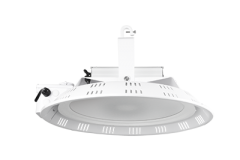 ETI 185w Rated Round High Bay, 0-10V Dimmable, Compatible w/Motion Sensor, IP65