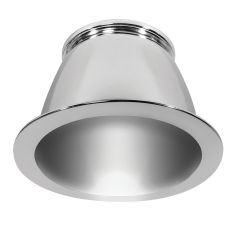 Trim Cone Reflector for DLED8R Series Downlight – Specular Silver