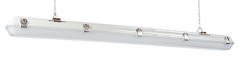 ETI 4ft 40W Vapor Tight with Battery Back-Up and Motion Sensor (NSF)