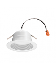 Lithonia Lighting Contractor Select 4 inch Baffle LED Module, Matte White, 90 CRI, 120V-5000