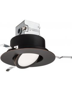 Lithonia Lighting Gen5 Canlesskit 6 Baffle, Adjustable, Round-4000-Oil Rubbed Bronze