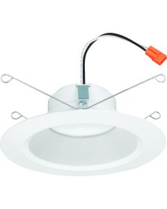 Lithonia Lighting Contractor Select 5 inch/6 inch Baffle LED Module, Matte White, 90 CRI, 120V