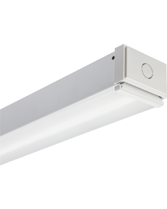 Lithonia Lighting Commercial Linear Strip, 48 inch Long-5000lm-Standard Efficiency-Flat diffuse-120-277 VAC-0-10V Dimming-4000-80