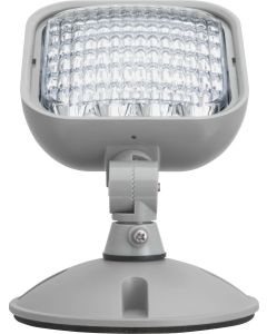 Lithonia Lighting Remote, Lamp Heads-Gray-Single-Square-Weather Proof