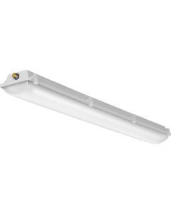 Lithonia Lighting Low-Profile Enclosed and Gasketed Industrial LED , 48 Long, Four Lamps, 120V-277V