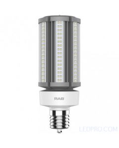 45 Watt LED Post Top Lamp - Ballast Bypass - Mogul Base - 5000K - 6,800 Lumens - 120-277V