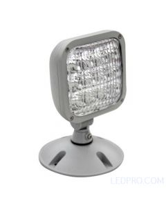 LED Emergency Lighting Single Remote Head-White