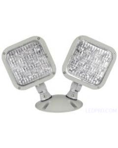 LED Emergency Lighting Double Remote Head-White