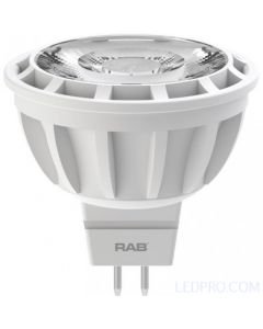 8 Watt Dimmable LED MR16 - 25 Degrees - 3000K - 570 Lumens - 12V